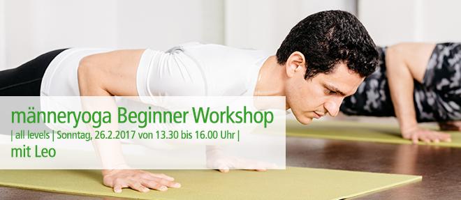 Beginner Workshop für Männer